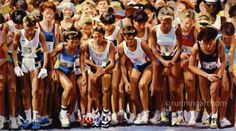 View the portfolio of world class runner Coreen Steinbach. Her Running Art paintings and prints make a great gift for the runner in your life. Running Art, Athletics, Stay Fit, Weights, Weight Lifting, Runners, Fitness Motivation, Artsy, Paintings