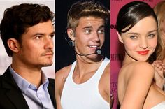 "Justin Bieber to Orlando Bloom: Miranda Kerr told me ""I want to make a man out of you"""