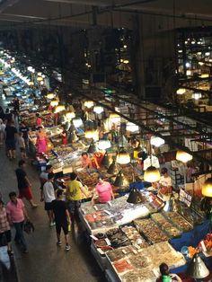 Noryangjin Fish Market. Author's own image.