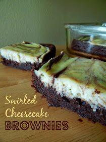 Ally's Sweet and Savory Eats: Swirled Cheesecake Brownies