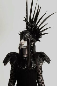Image result for raven headdress