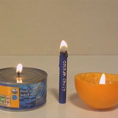 5 Ways to Make Emergency Candles from Household Objects