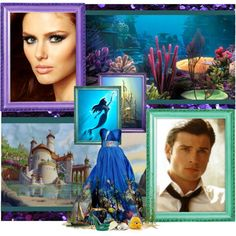 """Sierra Boggess as Ariel and Tom Welling as Prince Eric."" by justadreamer on Polyvore"