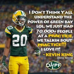 Image may contain: one or more people and text Green Bay Football, Green Bay Packers Jerseys, Go Packers, Packers Football, Best Football Team, Greenbay Packers, Football Season, Packers Memes, Packers Baby