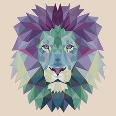 Polygonal Lion Head | Unisex T-Shirt
