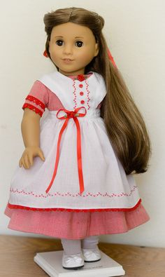 Valentine dress/pinafore for Marie-Grace from AnnasGirls, $52.00.