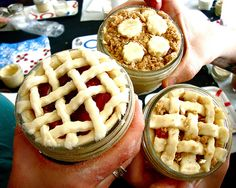 Pies in a jar ? :o
