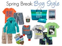 Travel Style: What to pack the kids for Spring Break - Savvy Sassy Moms
