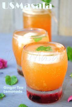 Ginger tea lemonade...boy howdy!