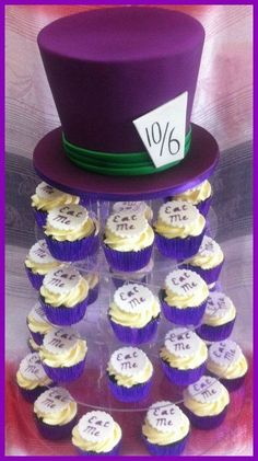 Madhatter cake and Cupcakes