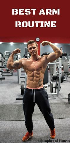 Check Out This Killer Arm Routine That Will Help You Increase Muscle Mass! #workout #exercise #armworkouts