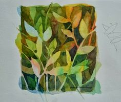 Watercolors: Negative Annelein Beukenkamp