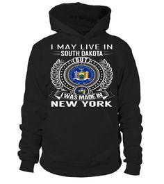 I May Live in South Dakota But I Was Made in New York #NewYork