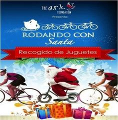 """https://mieventoonline.com/index.php/events/event-catagories/ciclismo-recreativo/event/65/Rodando-Con-Santa-3era-Edici%C3%B3n-?utm_content=buffer40899&utm_medium=social&utm_source=pinterest.com&utm_campaign=buffer  """"ARK Foundation, te invita a su 3era edición de Rodando con Santa. Tu inscripcion es un juguete para los ninos mas necesitados!"""
