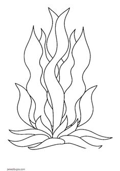 Beautiful Seaweed Coloring 59 For Children with Seaweed Coloring ., Beautiful Seaweed Coloring 59 For Children with Seaweed Coloring. Free Coloring Pages, Coloring Books, Coloring Worksheets, Sea Crafts, Sea Theme, Ocean Themes, Stained Glass Patterns, Applique Patterns, Seaweed