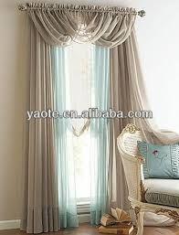 Resultado de imagen para cortinas para living con cenefa