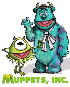 Muppets Inc. by Durkinworks.deviantart.com on @deviantART