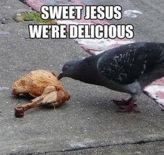 Sweet Jesus...