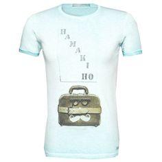 T-Shirt mit Print ab 19,90 € Hier kaufen: http://stylefru.it/s804940 #style #print #hellblau