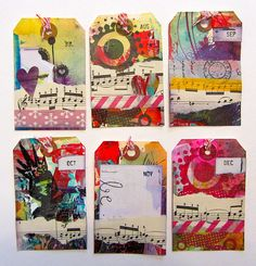 Perpetual Journal Tags/Dividers by nikimaki, via Flickr