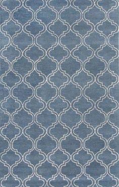 $5 Off when you share! Jaipur Rugs Baroque BQ17 Aegean Blue Rug