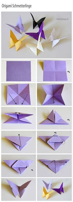 Paper Butterfly Mobile Tutorial Is So Easy | The WHOot                                                                                                                                                                                 More