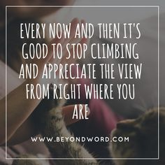 The point of getting to the top to take in the view is not always the best view, but walking climbing stopping and seeing.... taking in every little bit of the journey creates memories for the pin ultimate top view! Jojo ♥️♥️