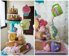Bolo | Cake | Bolo para Festa Infantil | Bolo Decorado | Festa Infantil | Bolo divertido | Festa Infantil