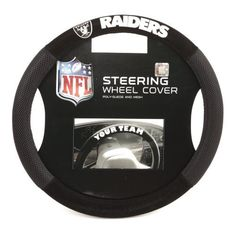 Black Friday NFL San Francisco Poly-Suede Steering Wheel Cover from Fremont Die Nfl Football Teams, Nfl Denver Broncos, Nfl Dallas Cowboys, Pittsburgh Steelers, Seattle Seahawks, Nfl Seattle, Indianapolis Colts, Broncos Gear, Nfl Sports