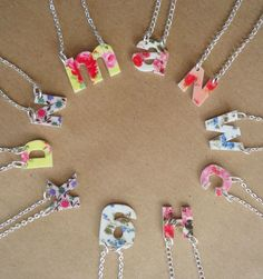 Alphabet Pendant • diy how to make tutorial ideas projects sew pattern handmade instructions
