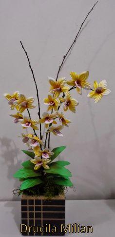 Arteirices da Dru: Orquídea Bailarina em EVA