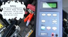 Check Your Battery Most auto parts stores will do this check for free. It's simple, fast, and will give you an indication if you can make it through the winter without a dead battery. #summertyres