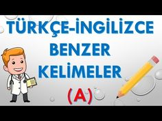 Türkçe İngilizce Benzer Kelimeler A Harfi, İngilizce Kelimeler - YouTube Family Guy, Youtube, Fictional Characters, English, Fantasy Characters, Youtubers, Youtube Movies, Griffins