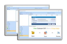 For the recovery of Outlook offline emails get external application OST Recovery Software. It is one of the most recommendable solution for the recovery as well as conversion of offline email messages. It convert OST to PST file format and split the resultant PST file size in GB.
