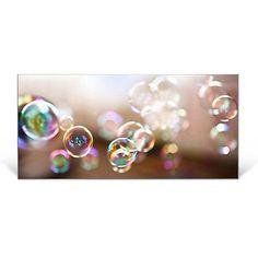 Design Magnetwand Memoboard Pinnwand Magnettafel mit Motiv Seifenblasen banjado