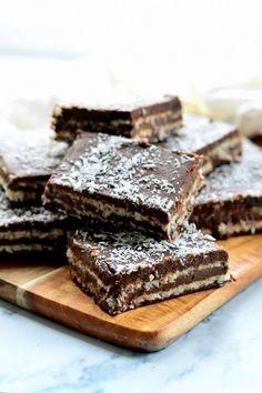 Zebrakocka cukormentesen recept - Kifőztük, online gasztromagazin Stevia Recipes, Gf Recipes, Diabetic Recipes, Dessert Recipes, Desserts, Healthy Salt, Biscuits, Healthy Food Options, Winter Food