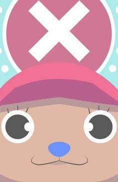Tony Tony Chopper New World Face, One Piece Anime and Manga One Piece Anime, Zoro, Tony Tony Chopper, Manga Anime, Anime Art, Mugiwara No Luffy, One Piece Chopper, Anime Lock Screen, The Pirate King