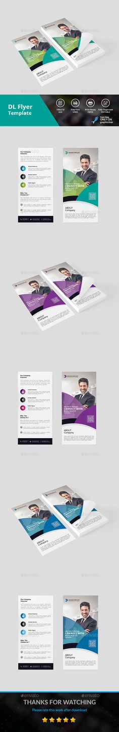 Dl Flyer Template Brochures And Flyer Template