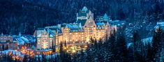 The Fairmont Chateau Whistler, British Colombia, Canada