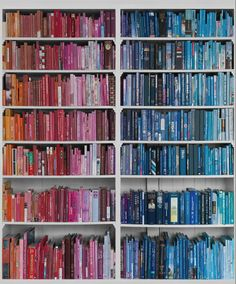 A.M.A.Z.I.N.G. Library Wall Panel Red and Blue Library effect Wall Paper Panel. Can be matched with two alternative coloured panels to create a large library panel. Can be made in varying sizes. Please contact Fabrics and Papers for further information.