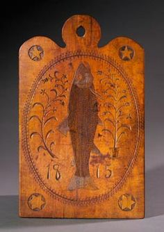 1815 Fish carving