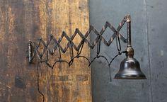BoHo / Bohemian inredning & ditt-o-datt...: Industrilampor 2. Gamla och patinerade för rätt belysning/stämning/ inredningslook...