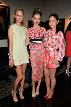 Amber Valletta, Amber Heard, and Olivia Munn - The Cut