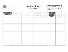 Action Plan Templates Word Fair Kanagasuntharam Jeyavathanan Jeyavathanan On Pinterest