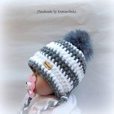 K čemu? No přeci k& String Crafts, Fun Crafts, Diy And Crafts, Crochet Baby Hats, Knit Crochet, Birthday Wishes Greeting Cards, Baby Dolphins, Sewing Patterns, Crochet Patterns