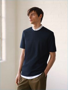 COS layers for summer with a minimal shirting ensemble.