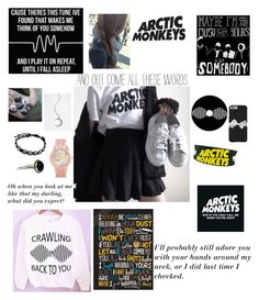 """""""Arctic Monkeys"""" by haileyscomet95 ❤ liked on Polyvore featuring Aéropostale and Accessorize"""