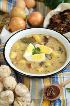 Soup Recipes, Cooking Recipes, Cooking Ideas, Polish Recipes, Cheeseburger Chowder, Ale, Food And Drink, Ethnic Recipes, Diet