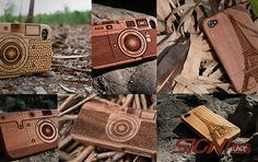 Get One Wooden Case From Six Designs Based on Bamboo, Sapele and Walnut - Wooden SigniCASE iPhone 4/4S Case (41% off)
