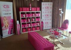 The brand set up in the pre-Oscars' gifting suite in 2014